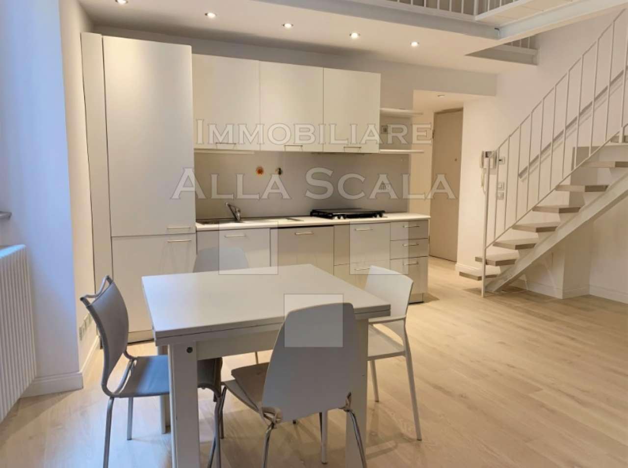 Appartamento in Affitto a Milano 01 Centro storico (Cerchia dei Navigli): 2 locali, 65 mq