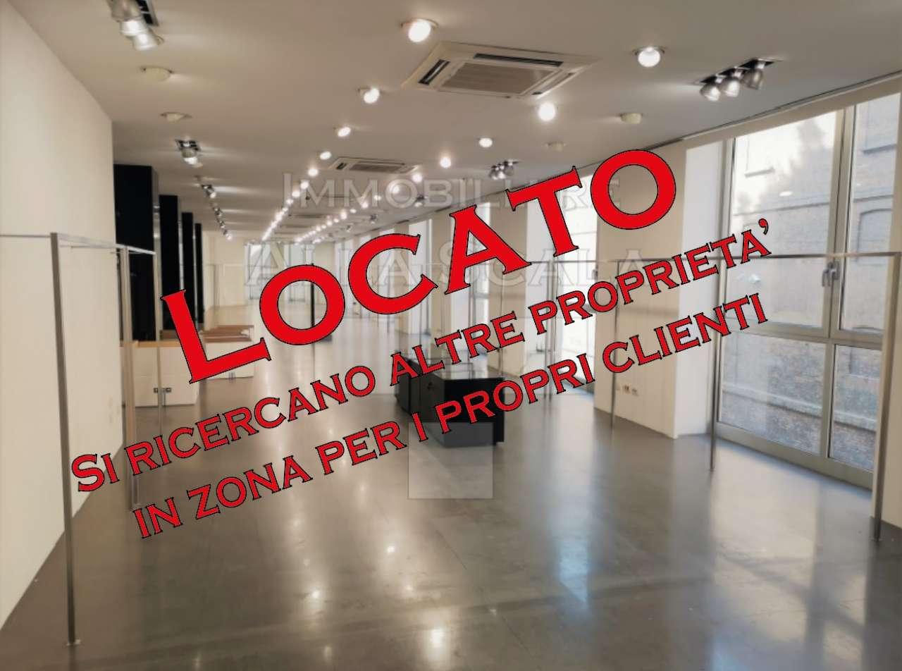 Negozio-locale in Affitto a Milano 01 Centro storico (Cerchia dei Navigli): 5 locali, 800 mq