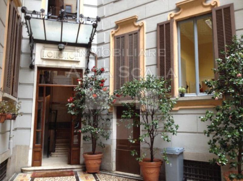 Ufficio studio in affitto a milano via giovanni boccaccio for Planimetrie strette