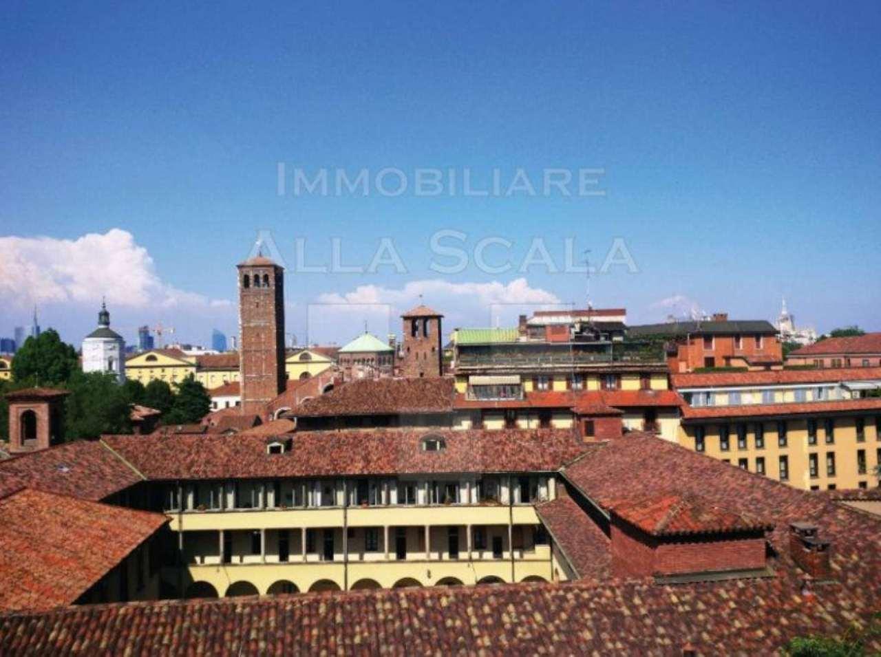 Attico / Mansarda in affitto a Milano, 3 locali, zona Zona: 1 . Centro Storico, Duomo, Brera, Cadorna, Cattolica, prezzo € 2.250 | Cambio Casa.it