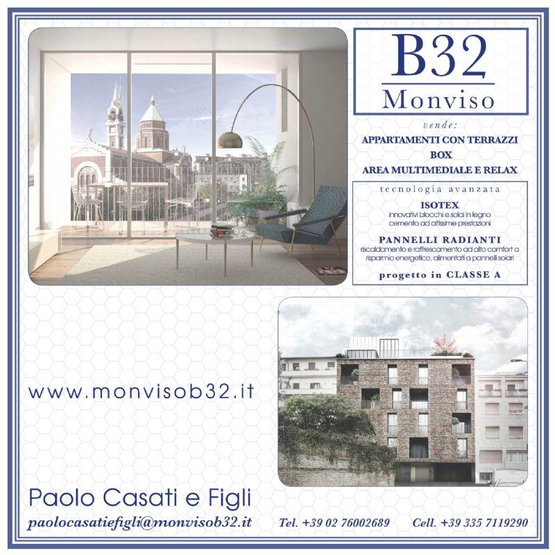 Bilocale Milano Via Monviso 7