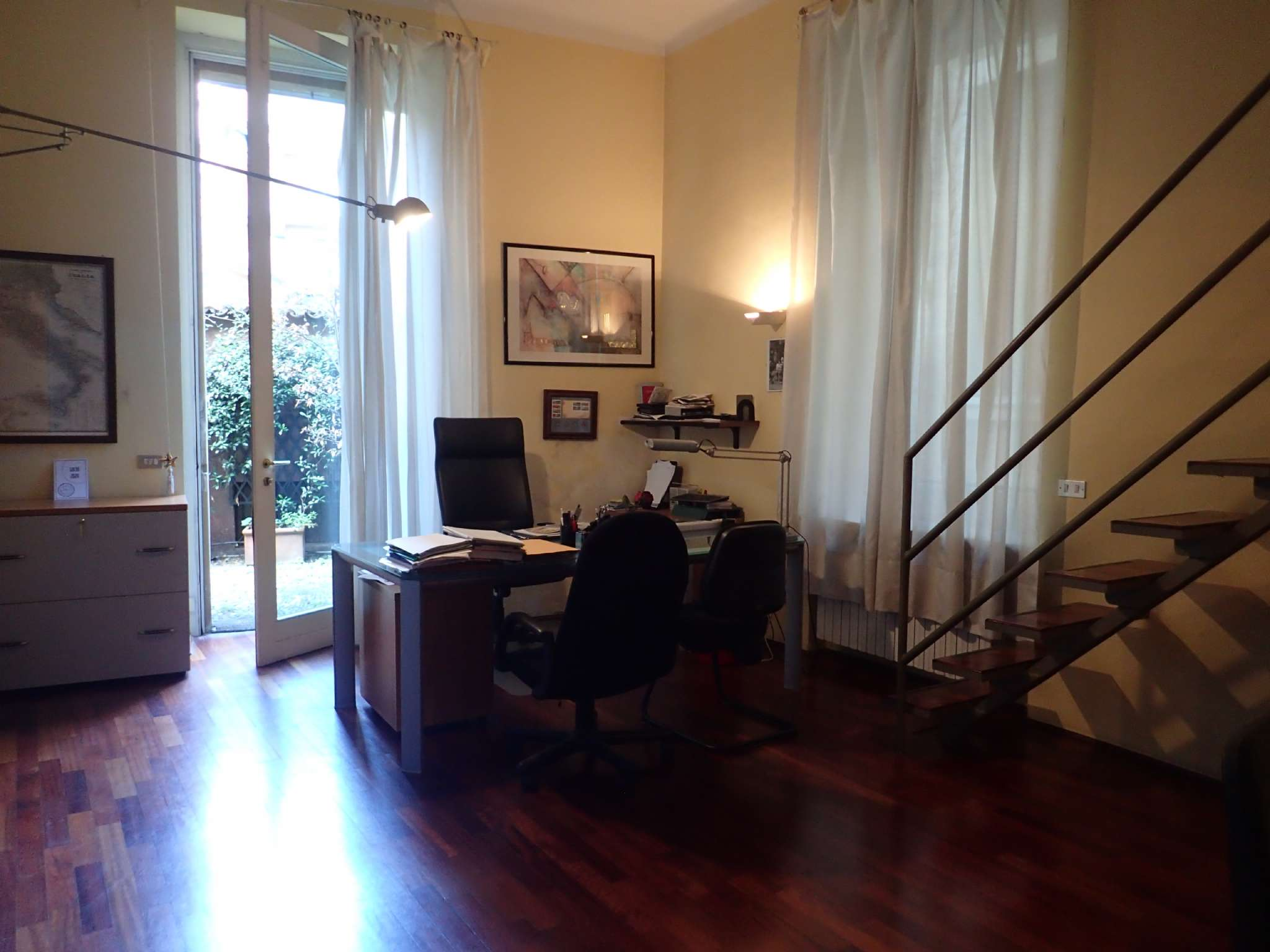 Ufficio-studio in Affitto a Milano 01 Centro storico (Cerchia dei Navigli): 5 locali, 174 mq