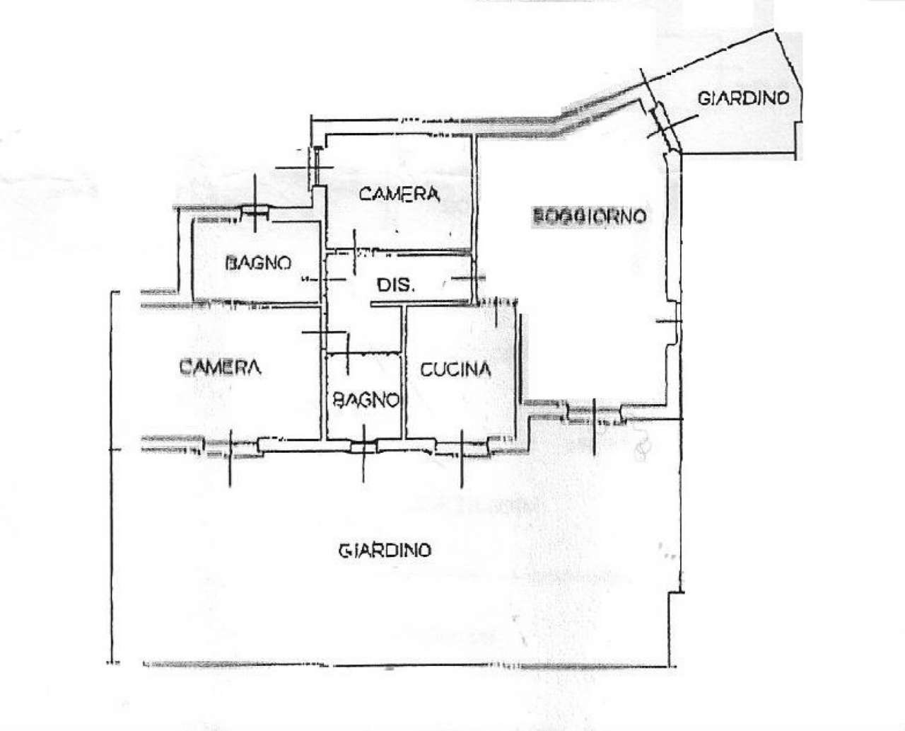 Appartamento in affitto a Trivolzio, 3 locali, prezzo € 600 | Cambio Casa.it