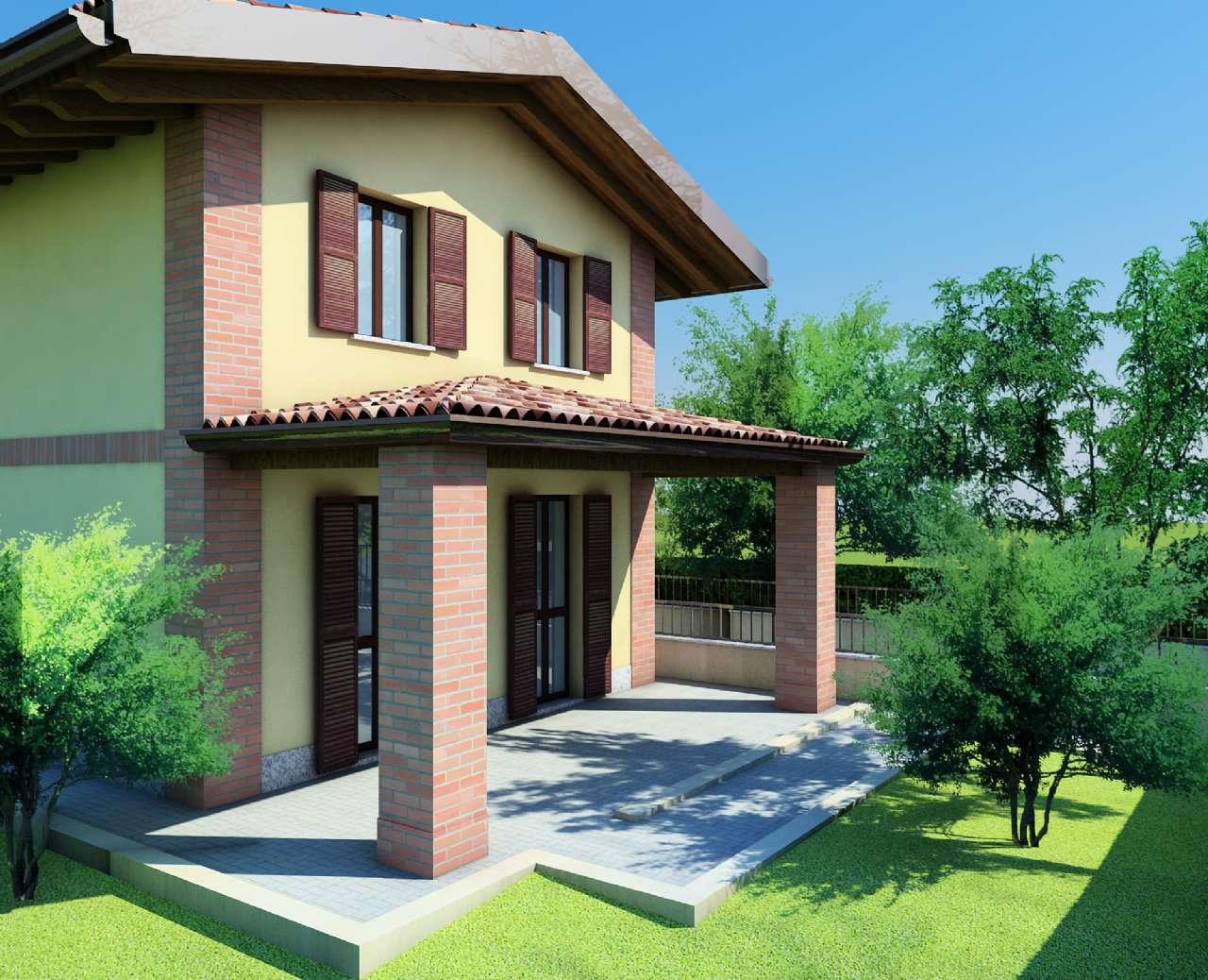 Villa quadrilocale in vendita a Trivolzio (PV)