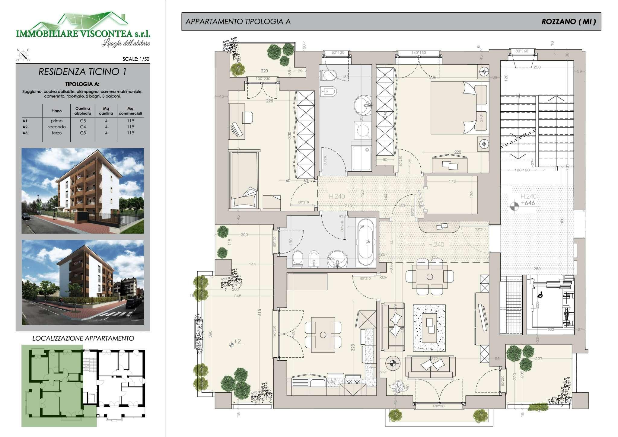 Appartamento in vendita a Assago, 3 locali, prezzo € 298.000 | Cambio Casa.it