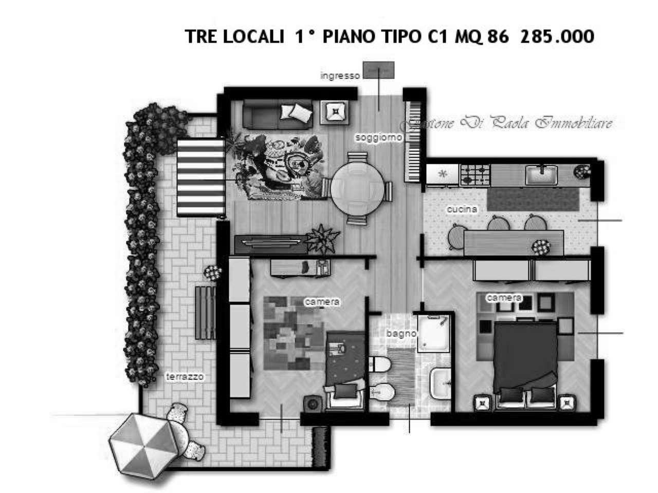 Appartamento in vendita a Milano, 3 locali, zona Zona: 3 . Bicocca, Greco, Monza, Palmanova, Padova, prezzo € 285.000 | Cambio Casa.it