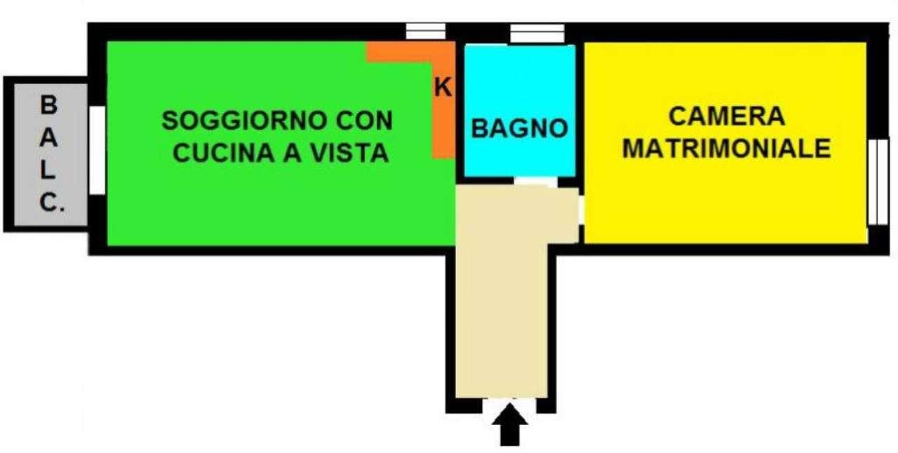 Vendita  bilocale Milano Ripa Di Porta Ticinese 1 1019967