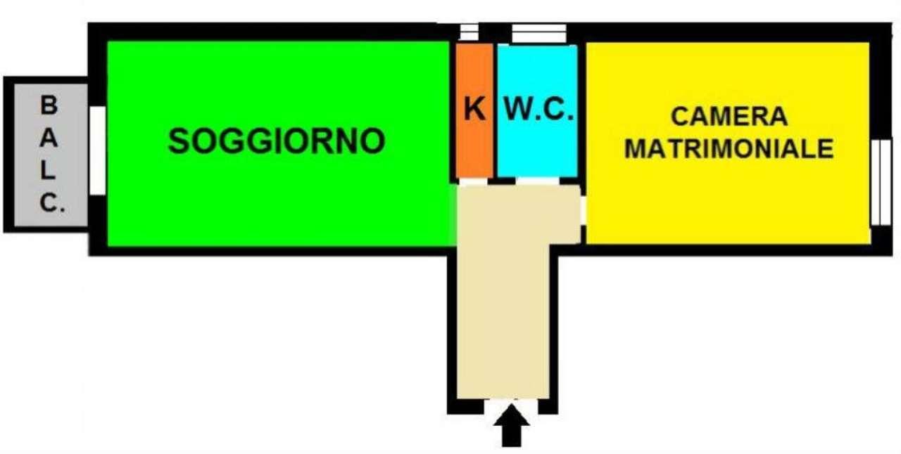 Vendita  bilocale Milano Ripa Di Porta Ticinese 1 1087189