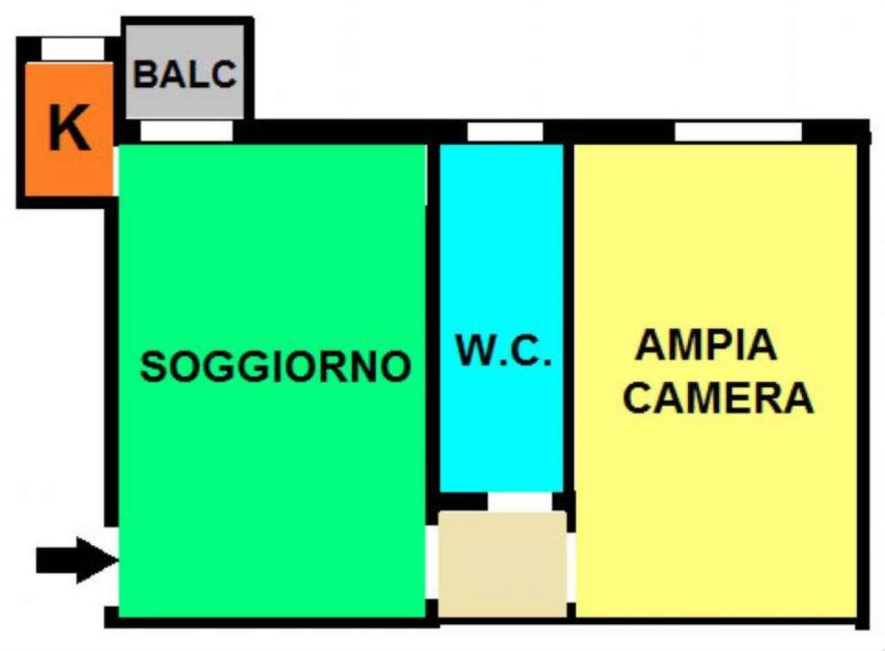 Affitto  bilocale Milano Via Elia Lombardini 1 1077958