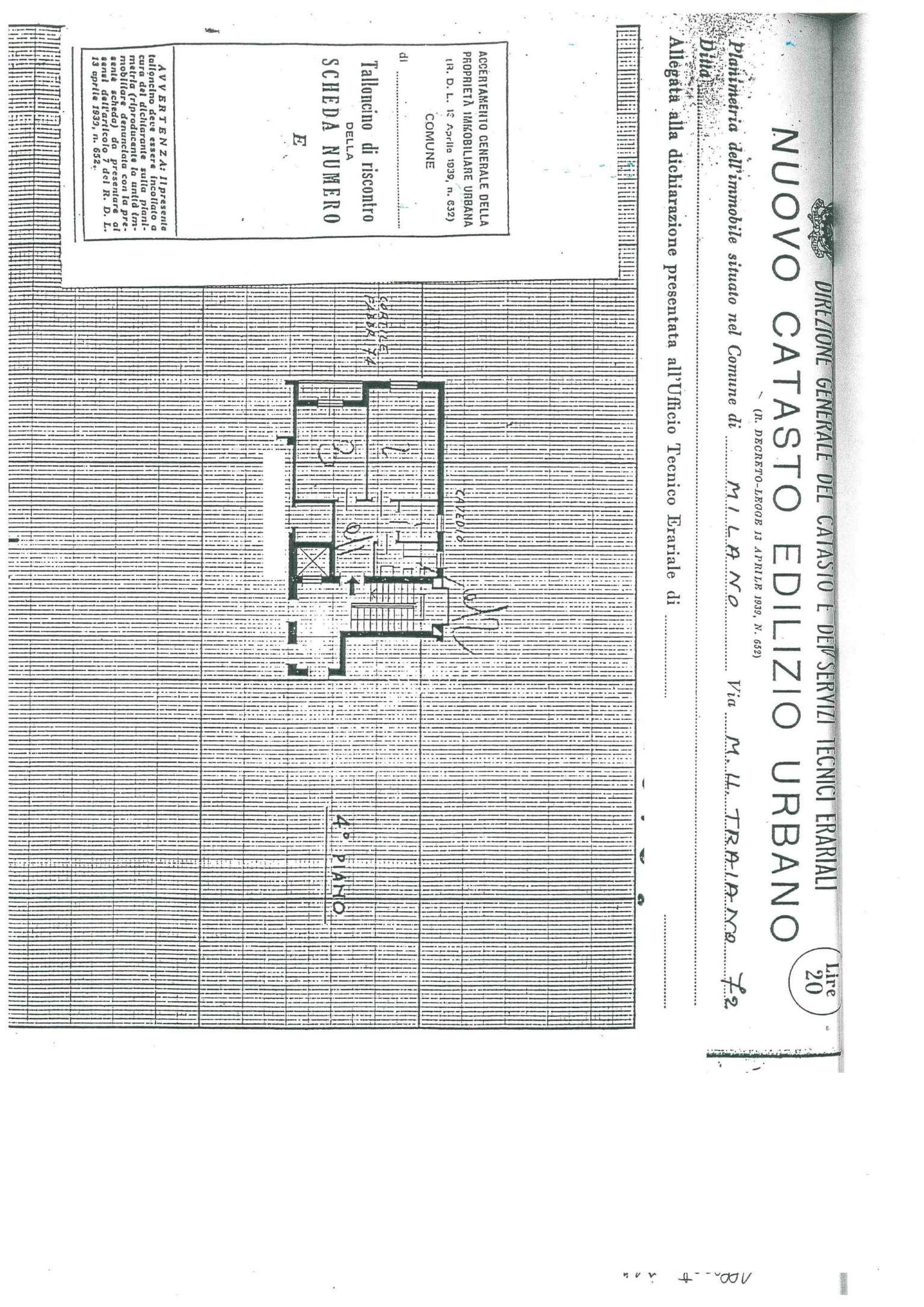Affitto  bilocale Milano Via Marco Ulpio Traiano 1 1087191