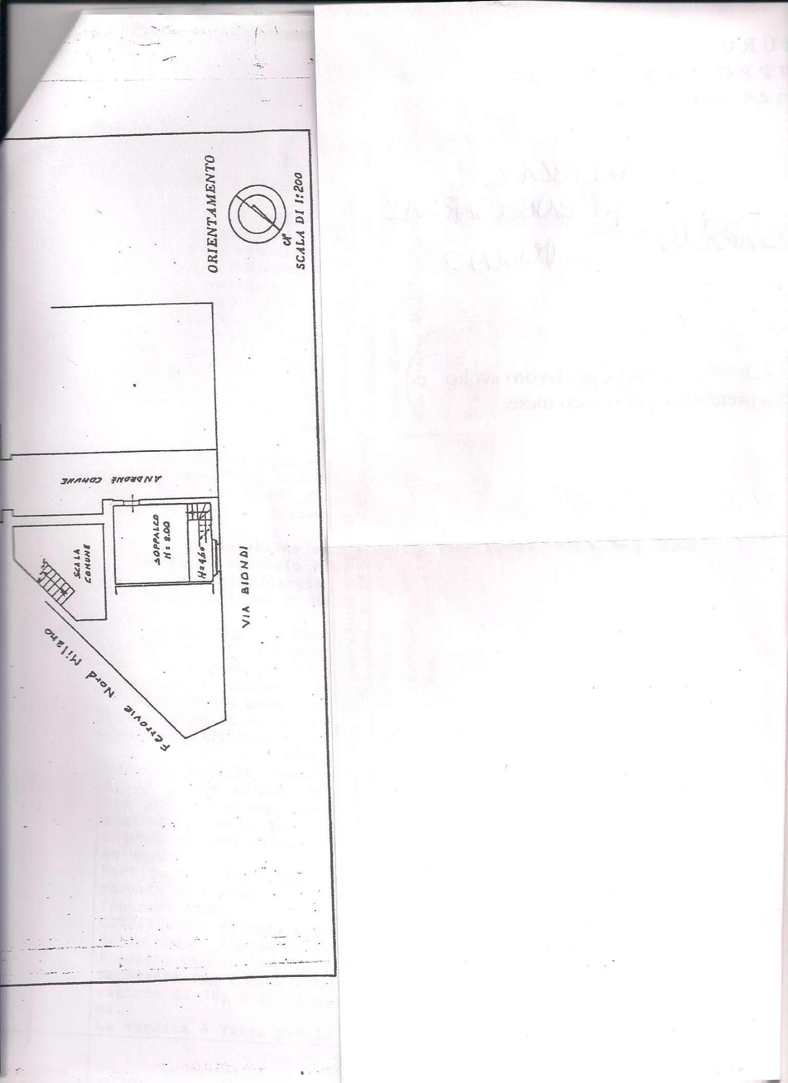 Vendita  bilocale Milano Via Via Ezio Biondi 1 919926