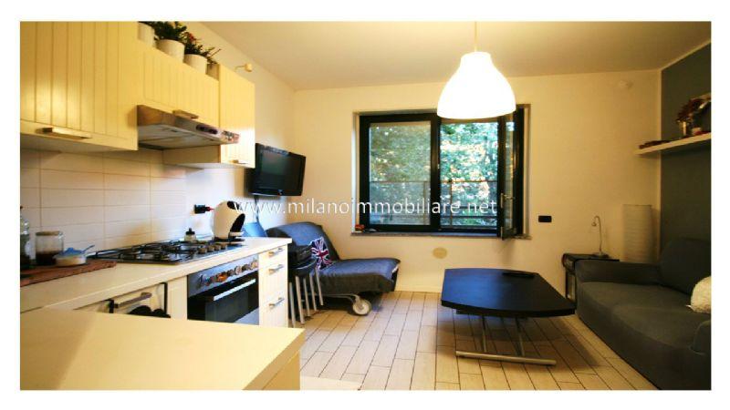 Bilocale Milano Via Santander 2