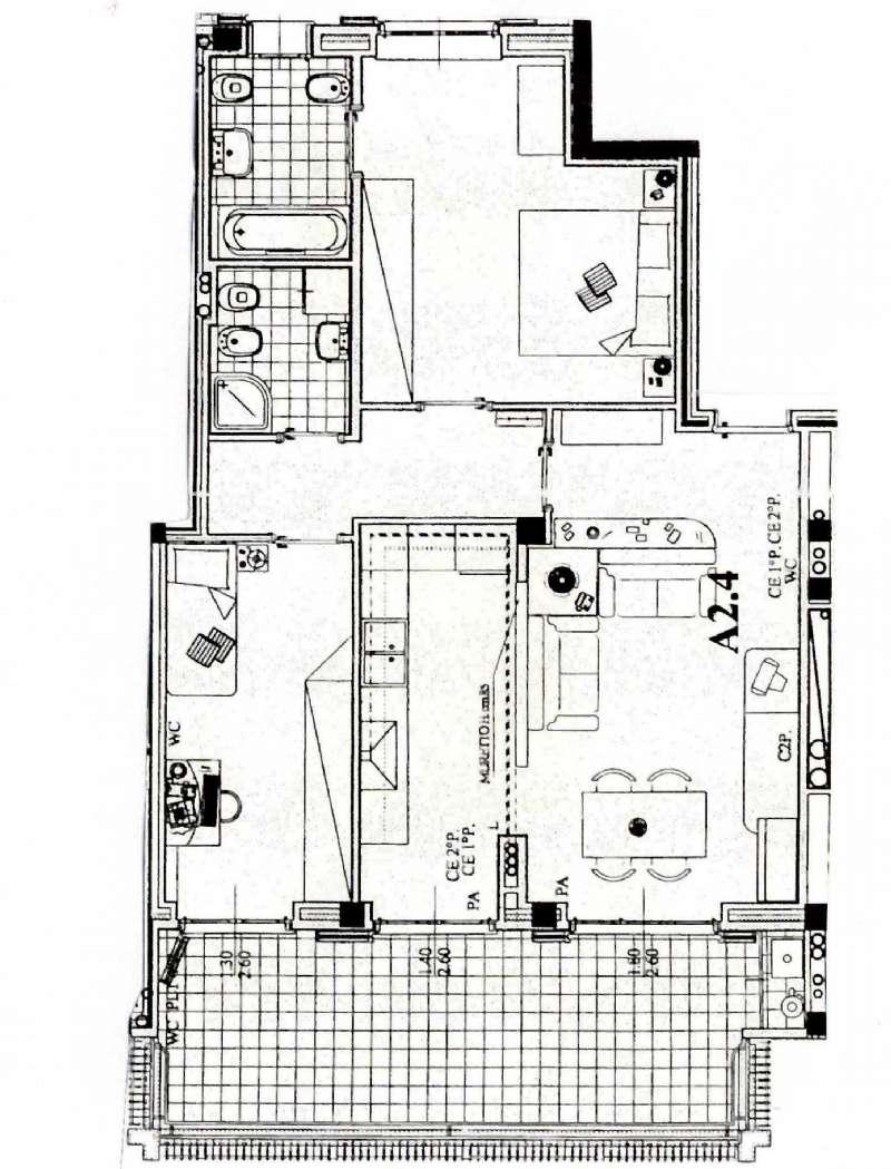 Appartamento in Vendita a Peschiera Borromeo: 3 locali, 106 mq