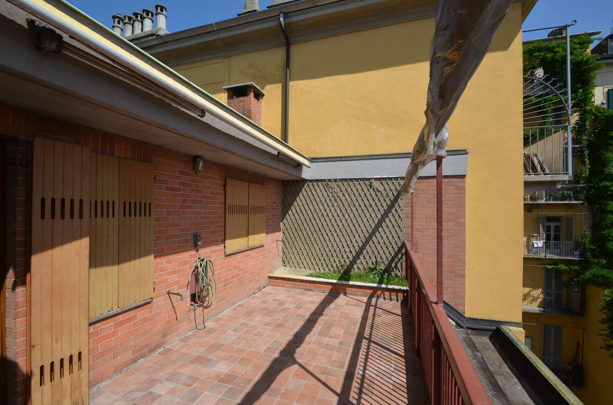 Foto 1 di Attico via Montevecchio 17, Torino (zona Crocetta, San Secondo)