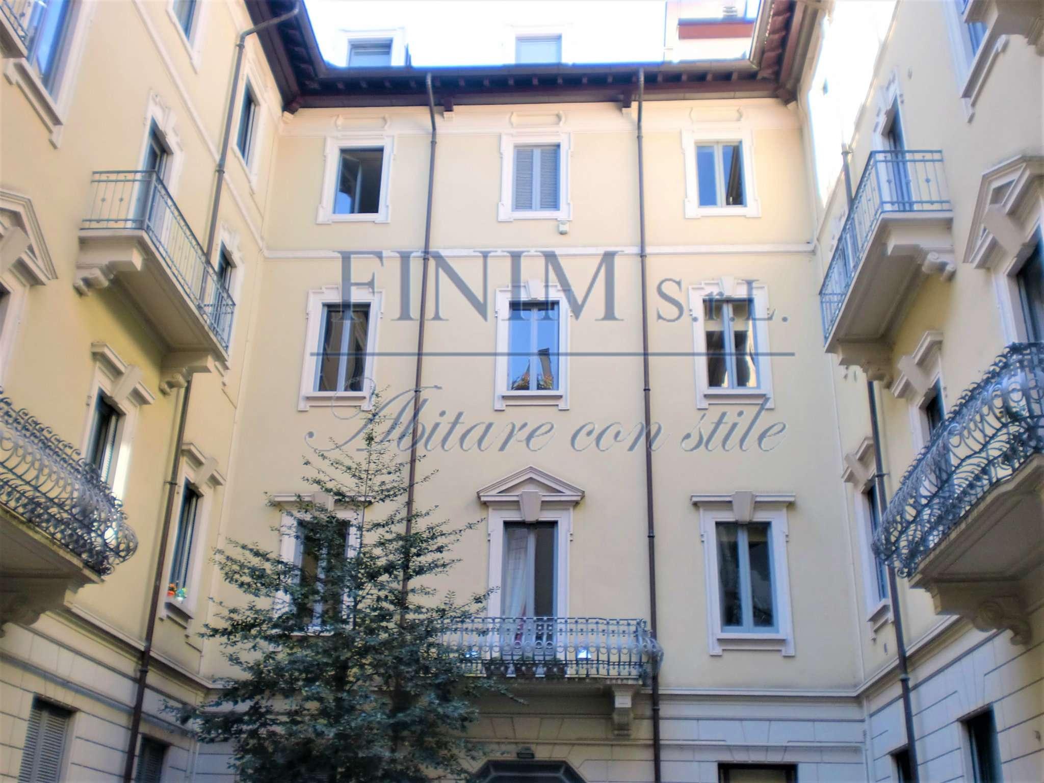Mansarda in Affitto a Milano 08 Vercelli / Magenta / Cadorna / Washington: 5 locali, 210 mq
