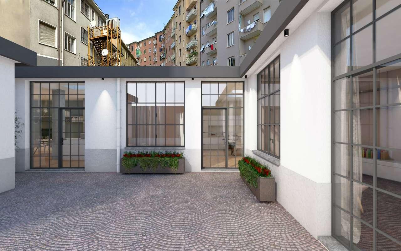 Ufficio-studio in Vendita a Milano 06 Italia / Porta Romana / Bocconi / Lodi: 3 locali, 82 mq