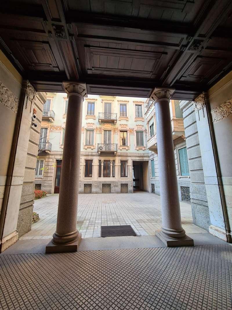 Ufficio-studio in Vendita a Milano 08 Vercelli / Magenta / Cadorna / Washington: 3 locali, 130 mq