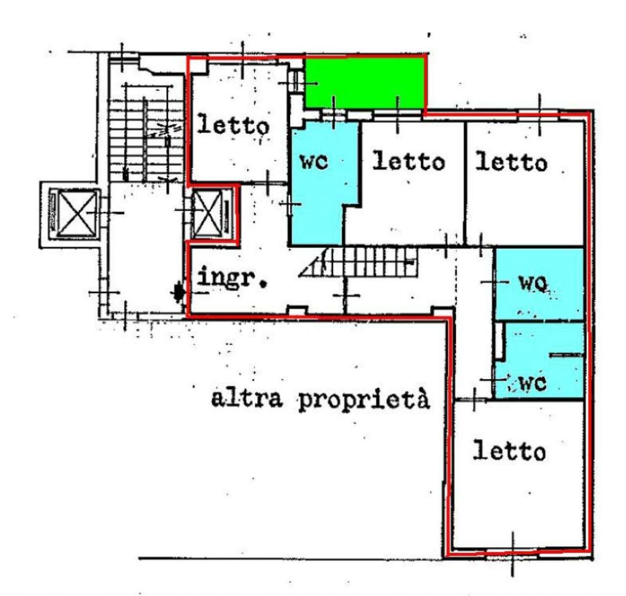 Milano Affitto ATTICO Immagine 1