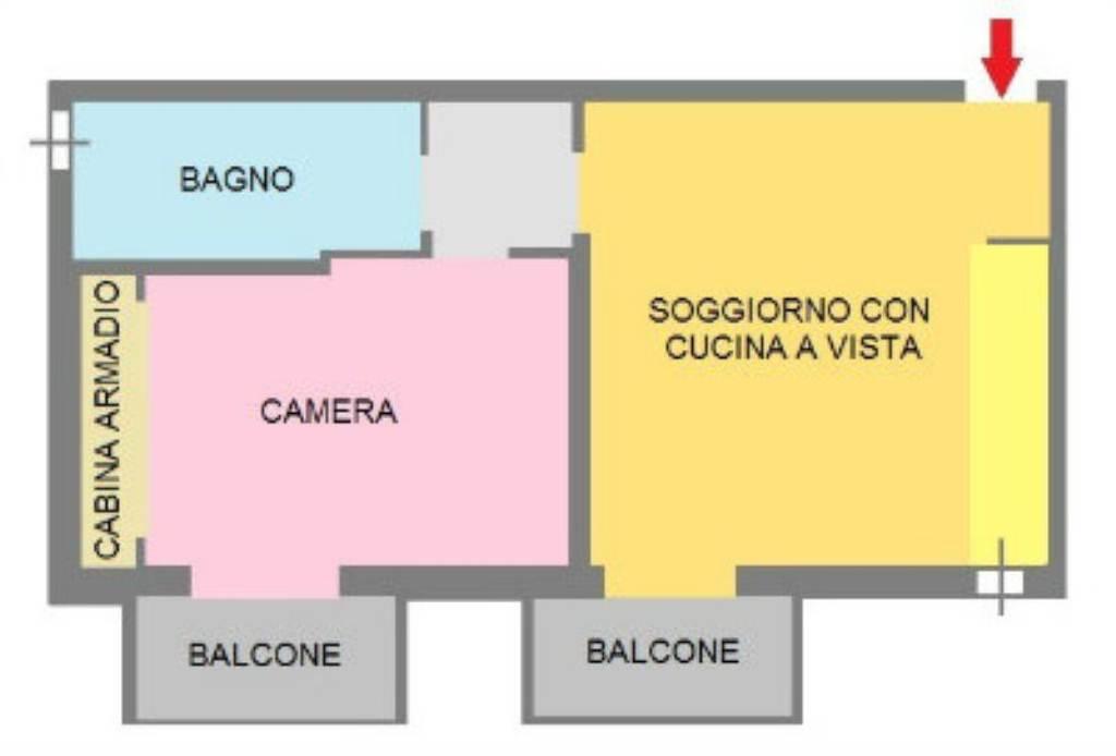 Vendita  bilocale San Donato Milanese Via Unica Sorigherio 1 627928