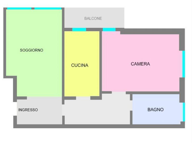 Vendita  bilocale Milano Via Dei Guarneri 1 874880