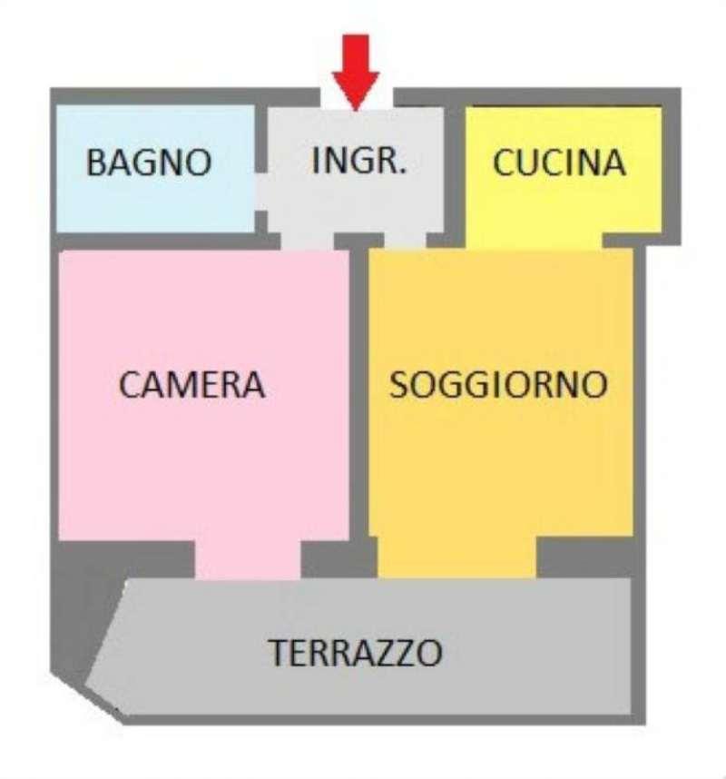 Vendita  bilocale San Giuliano Milanese Via Don Minzoni 1 841512