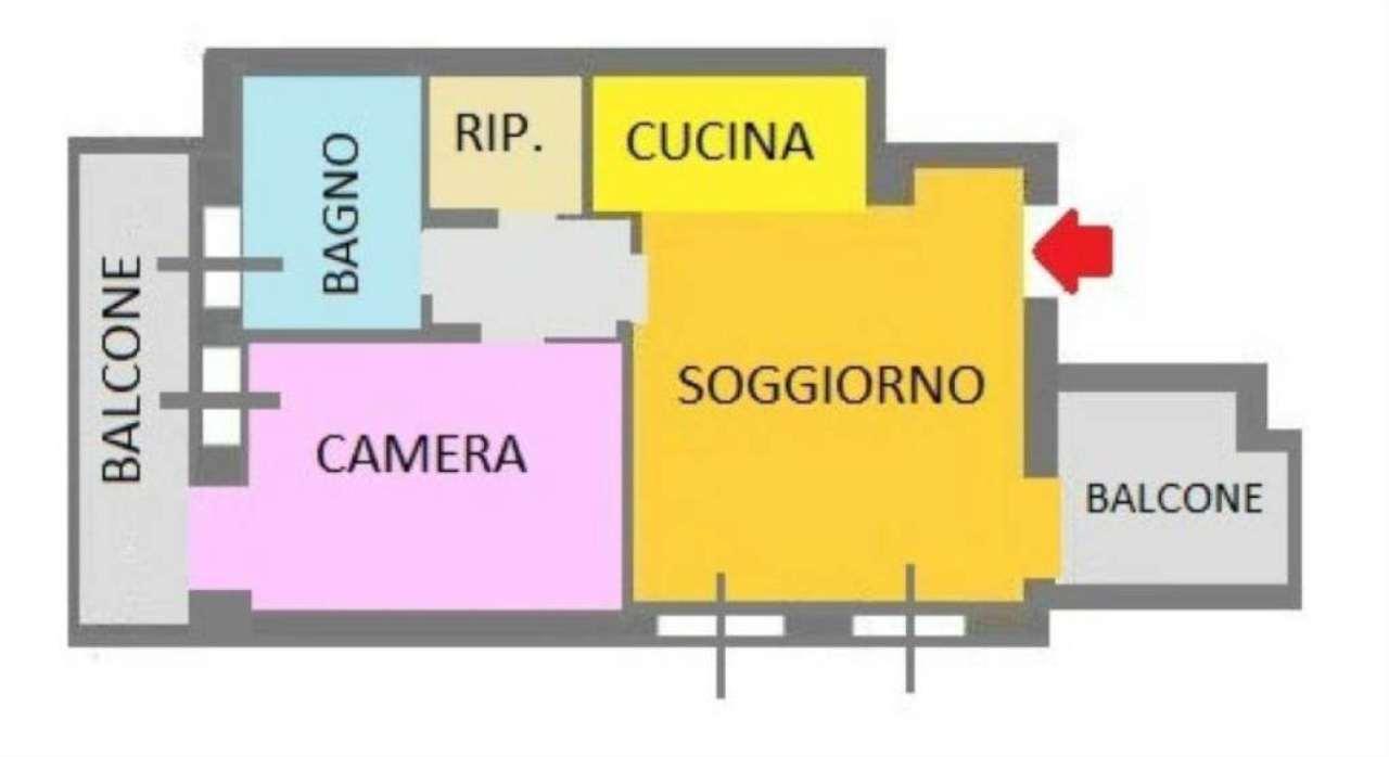Affitto  bilocale San Donato Milanese Via Delle Cascine 1 954540