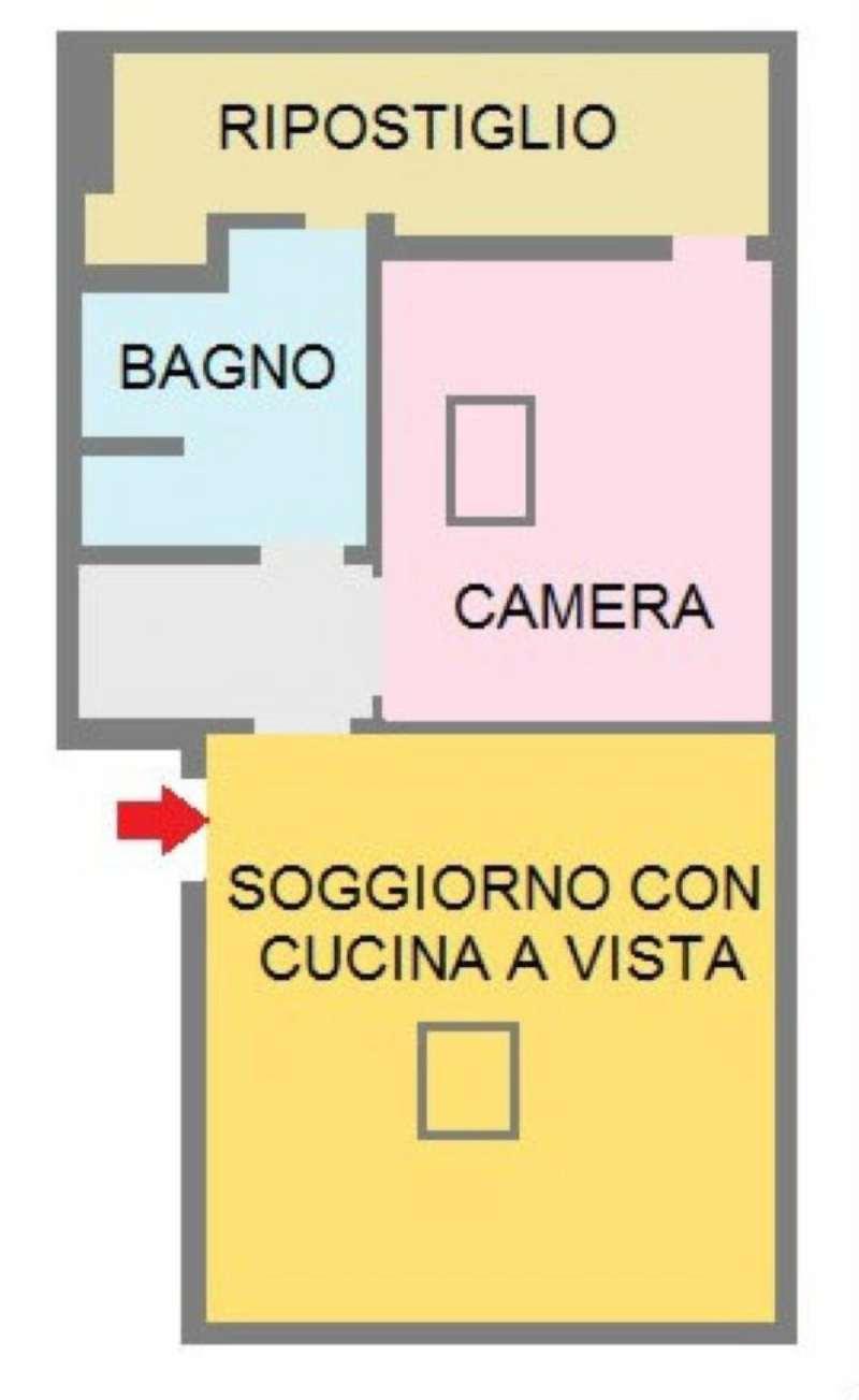 Vendita  bilocale San Donato Milanese Via Allende 1 1009634