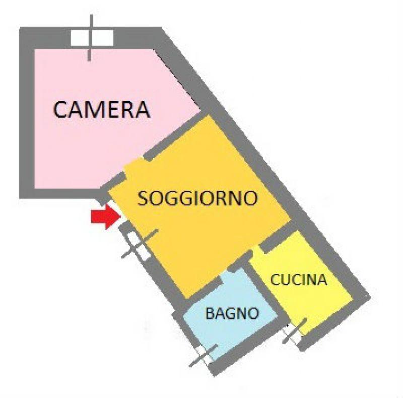 Vendita  bilocale San Donato Milanese Via Unica Poasco 1 1025169
