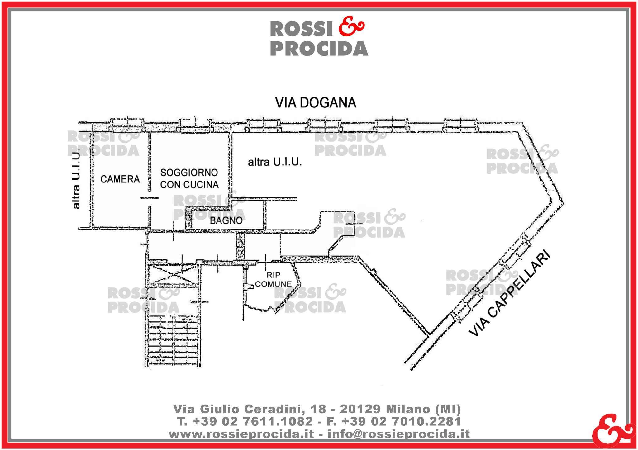 Vendita  bilocale Milano Via Dogana 1 871756