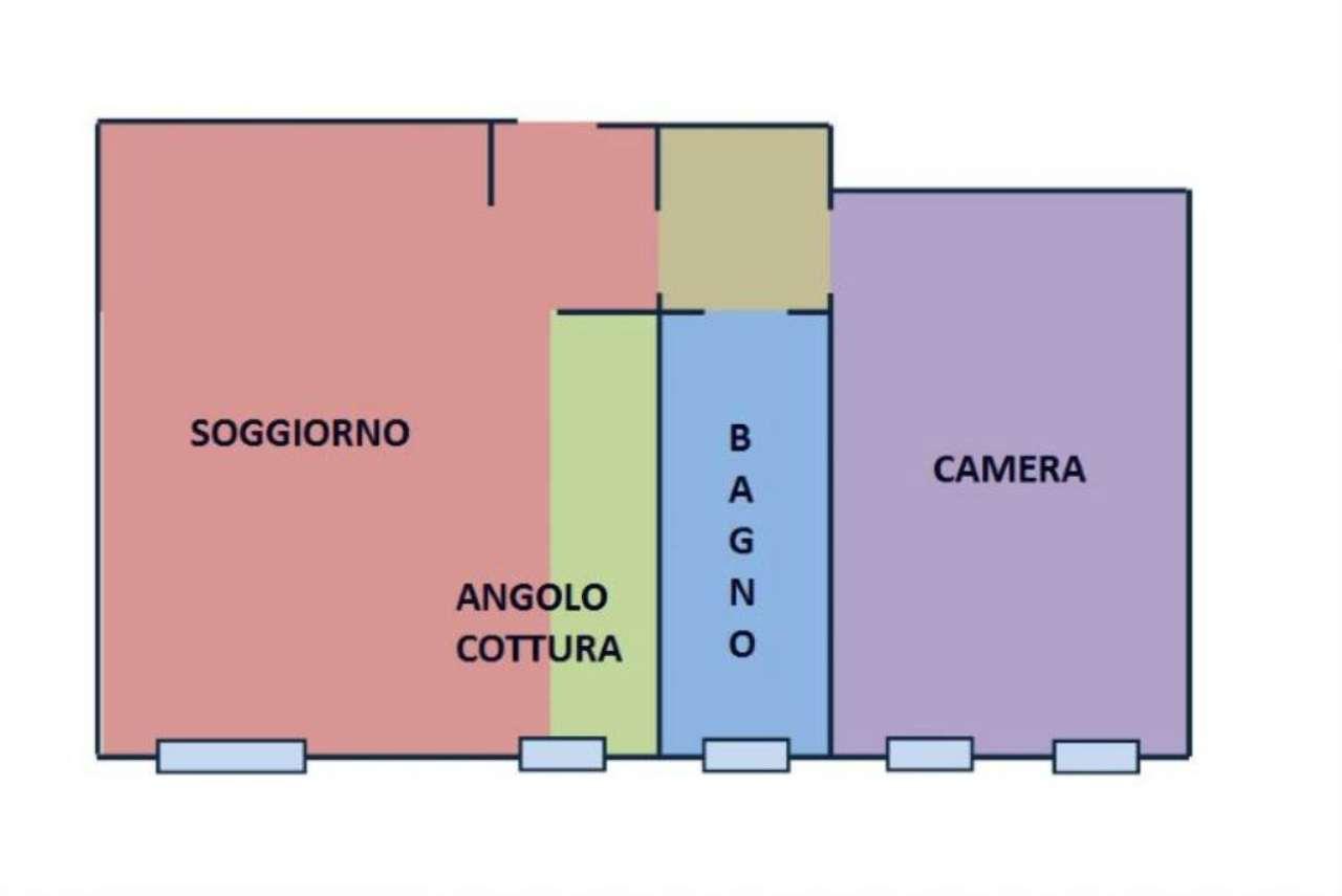 Vendita  bilocale Milano Via Giambellino 1 925884