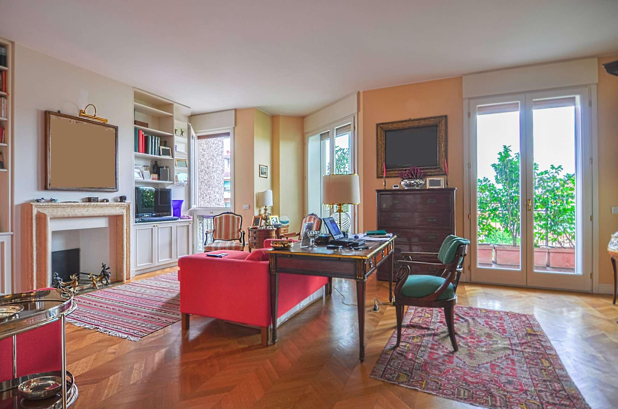 Appartamento in Vendita a Milano: 5 locali, 272 mq - Foto 1