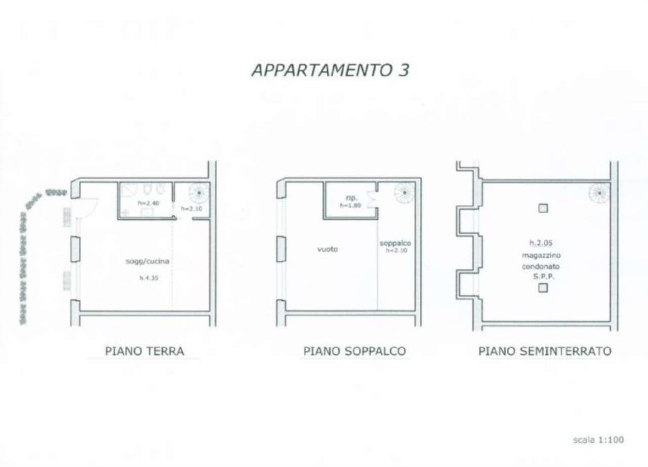 Affitto  bilocale Milano Via Poma 1 1081359