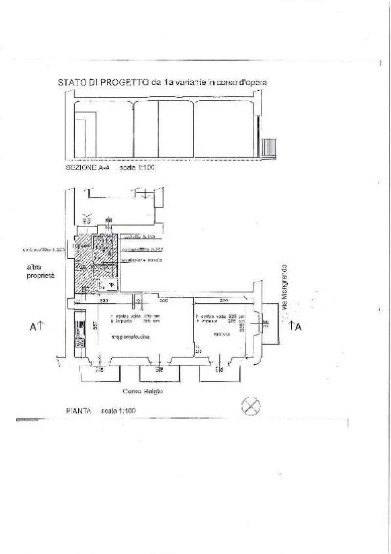 Vendita  bilocale Torino Corso Belgio 1 959568
