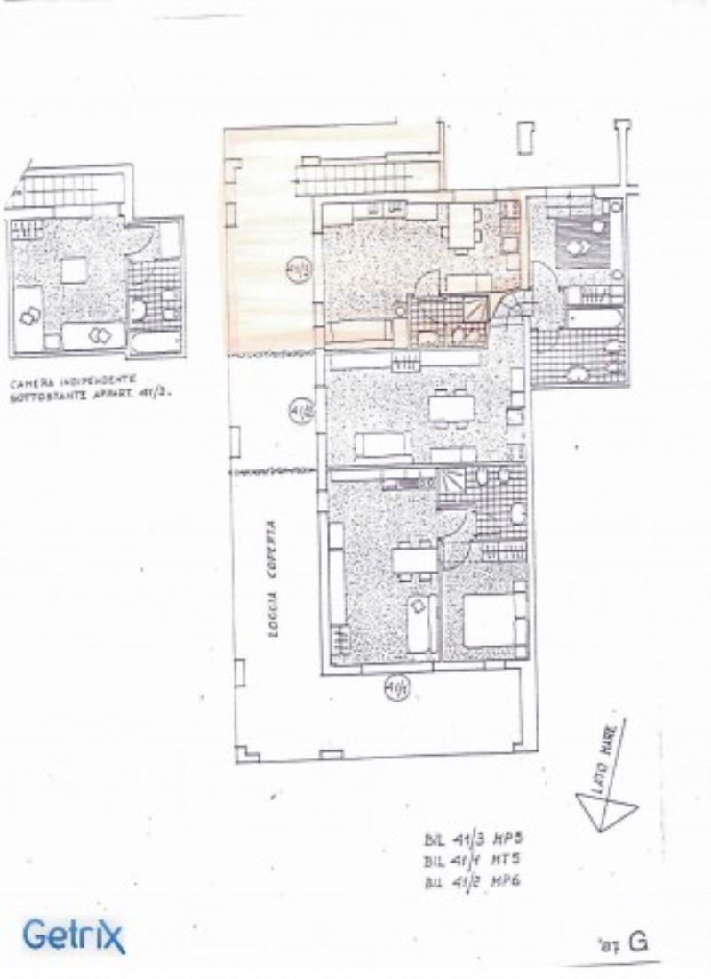 Affitto  bilocale Rapallo Via Pietrafredda 1 899430