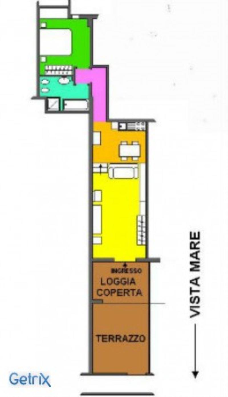Affitto  bilocale Rapallo Via Pietrafredda 1 897635