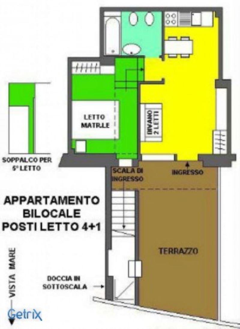Affitto  bilocale Rapallo Via Pietrafredda 1 899428