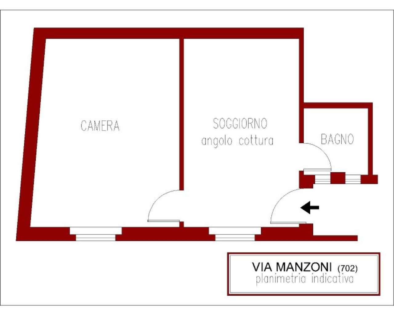 Vendita  bilocale Sesto San Giovanni Via Manzoni 1 924609