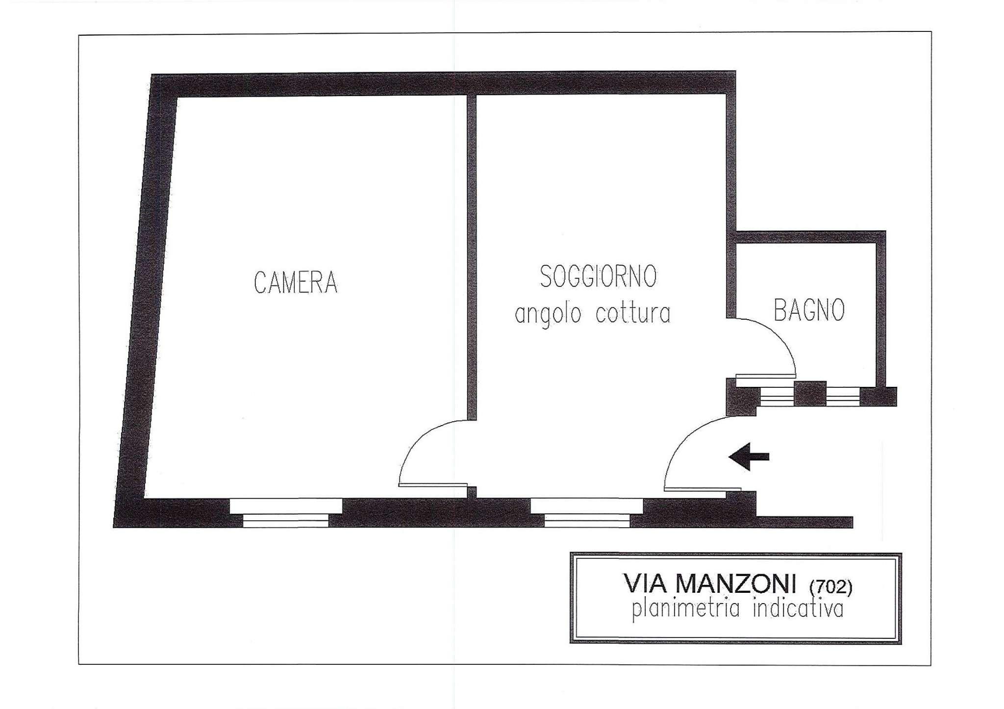 Affitto  bilocale Sesto San Giovanni Via Manzoni 1 960091