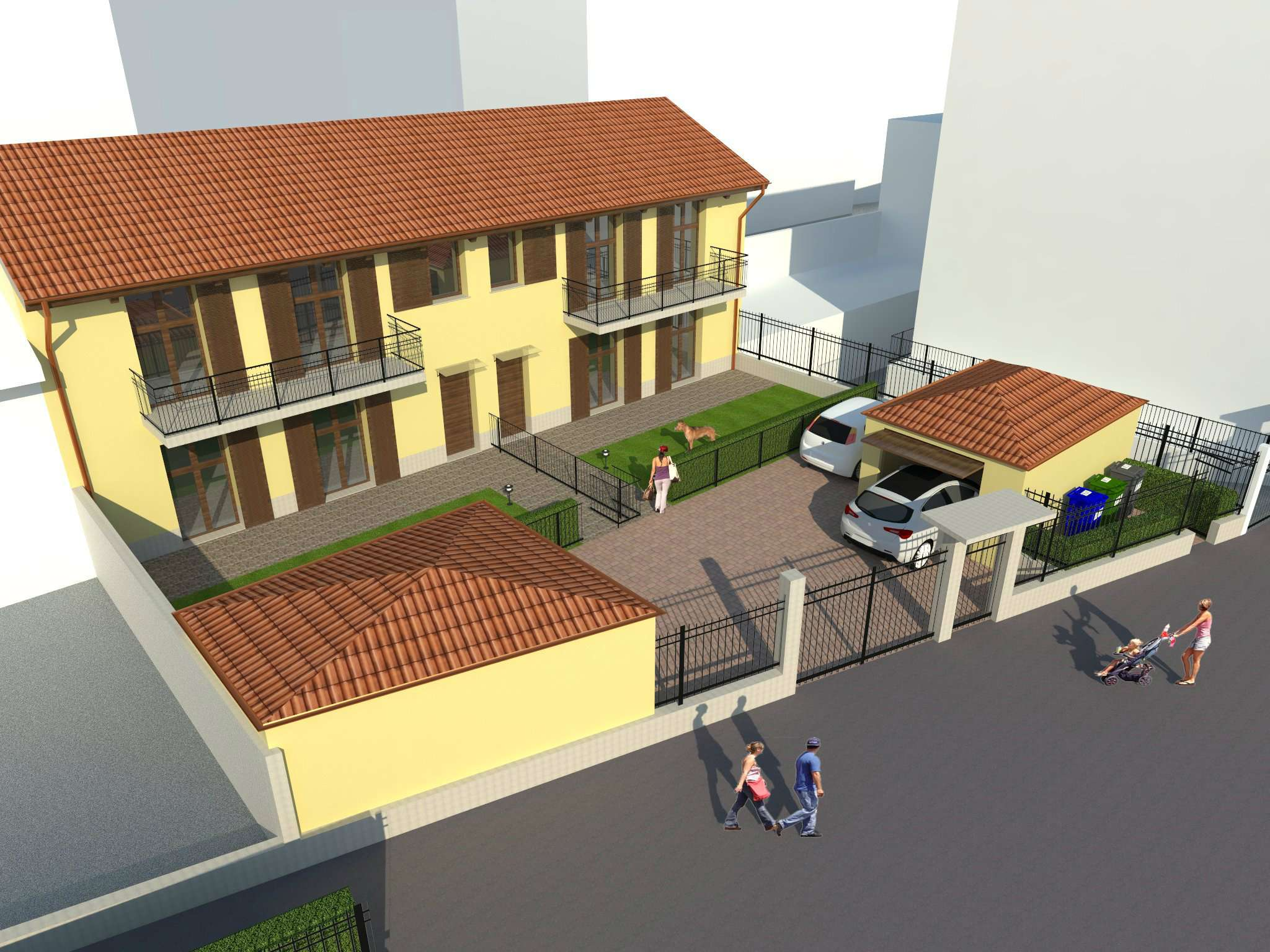 Villa in vendita via Cottolengo Vinovo
