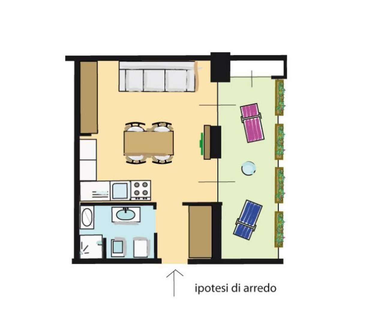 Vendita  bilocale Milano Via Fratelli Bozzi 1 1073436