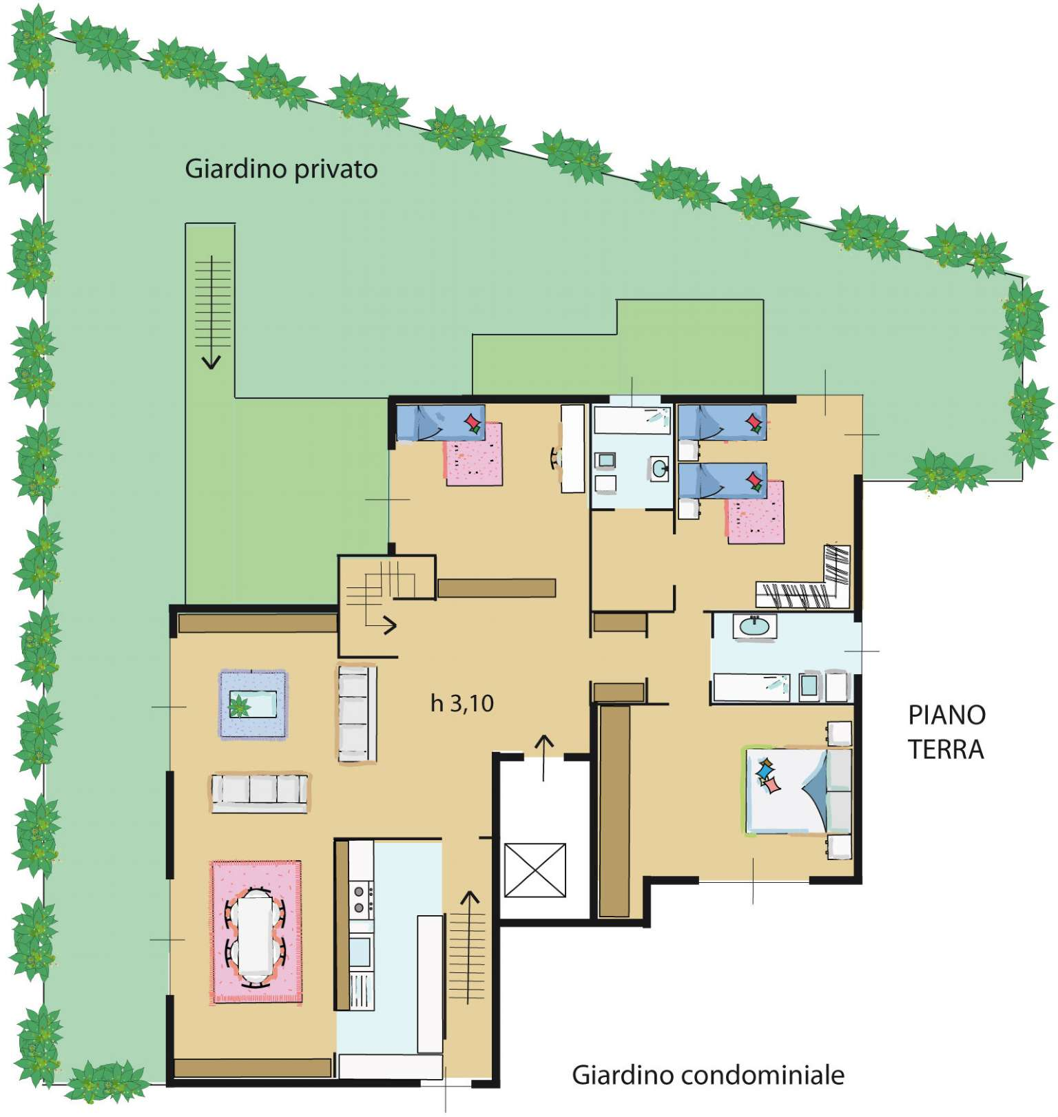 Appartamento in vendita a Milano, 5 locali, zona Zona: 14 . Lotto, Novara, San Siro, QT8 , Montestella, Rembrandt, prezzo € 730.000 | CambioCasa.it