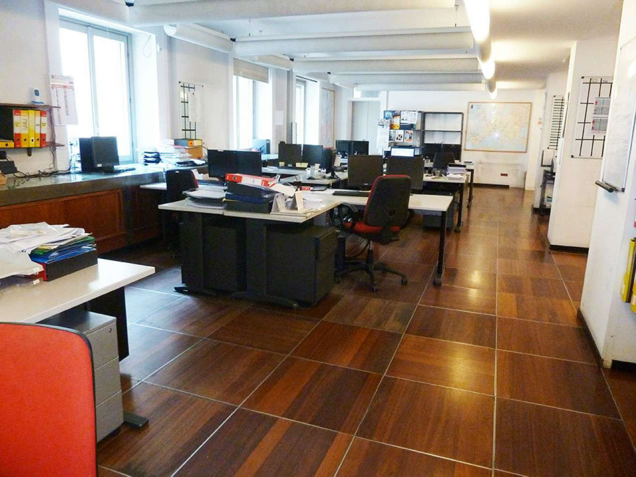Ufficio-studio in Affitto a Milano 16 Savona / San Cristoforo / Napoli / Coni Zugna: 5 locali, 360 mq
