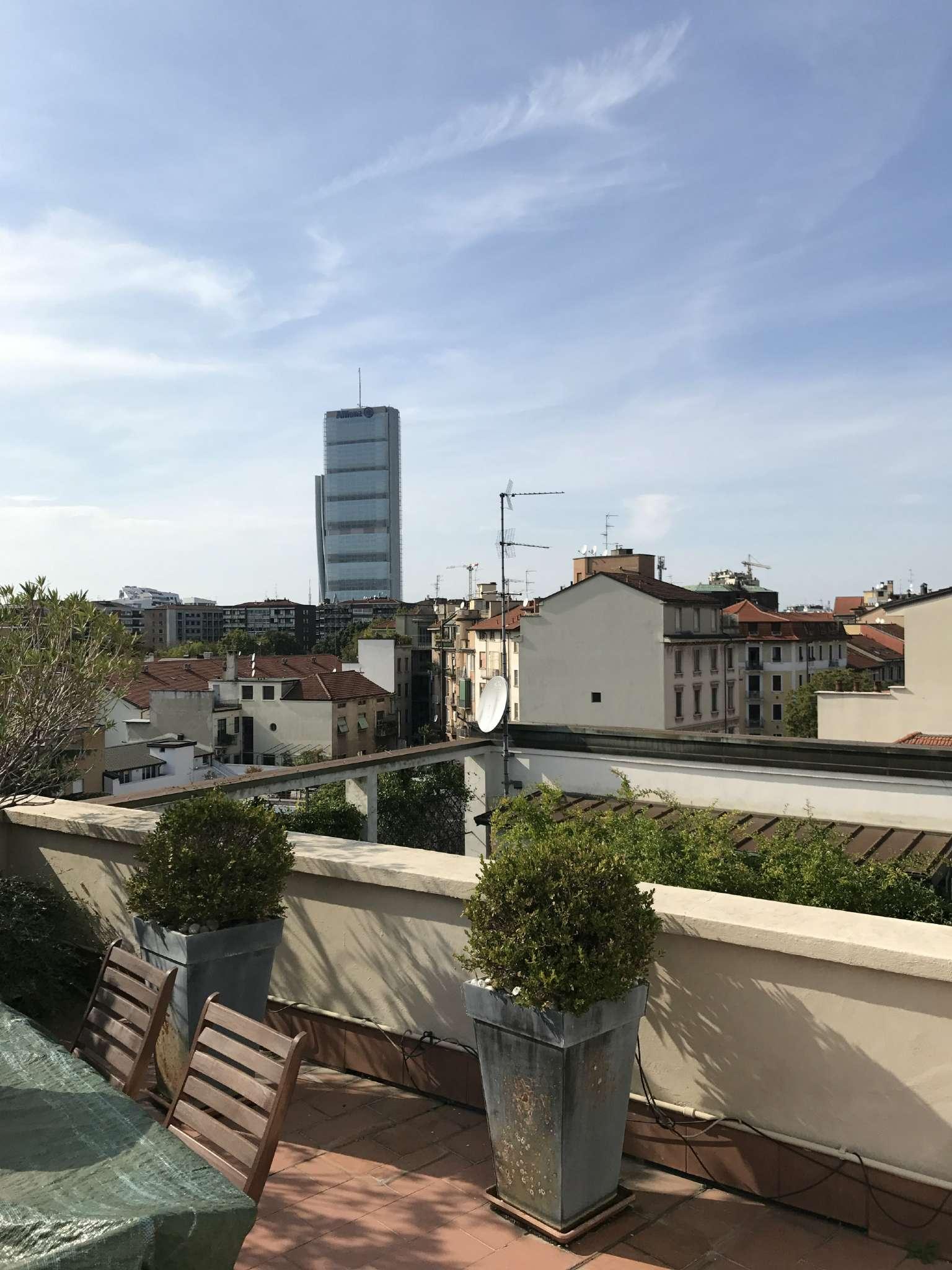 Attico in Affitto a Milano 17 Marghera / Wagner / Fiera: 2 locali, 65 mq