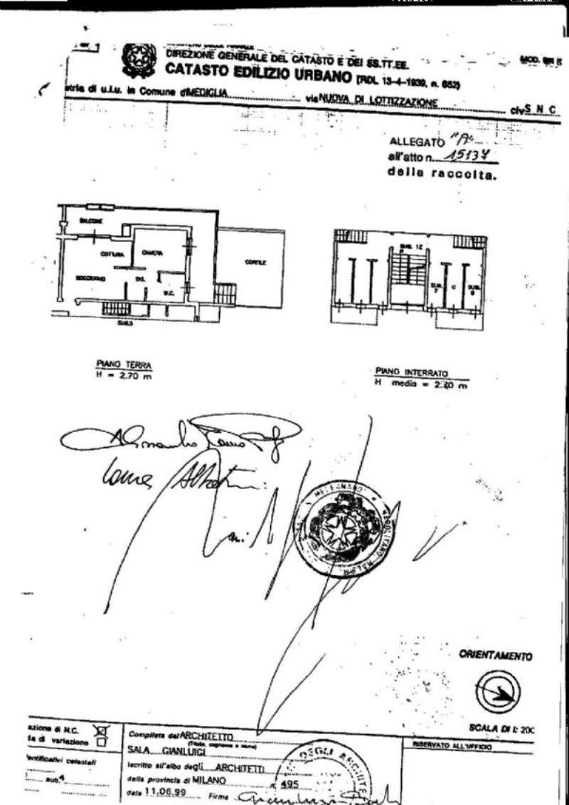 Vendita  bilocale Mediglia Via Cassiopea 1 960830