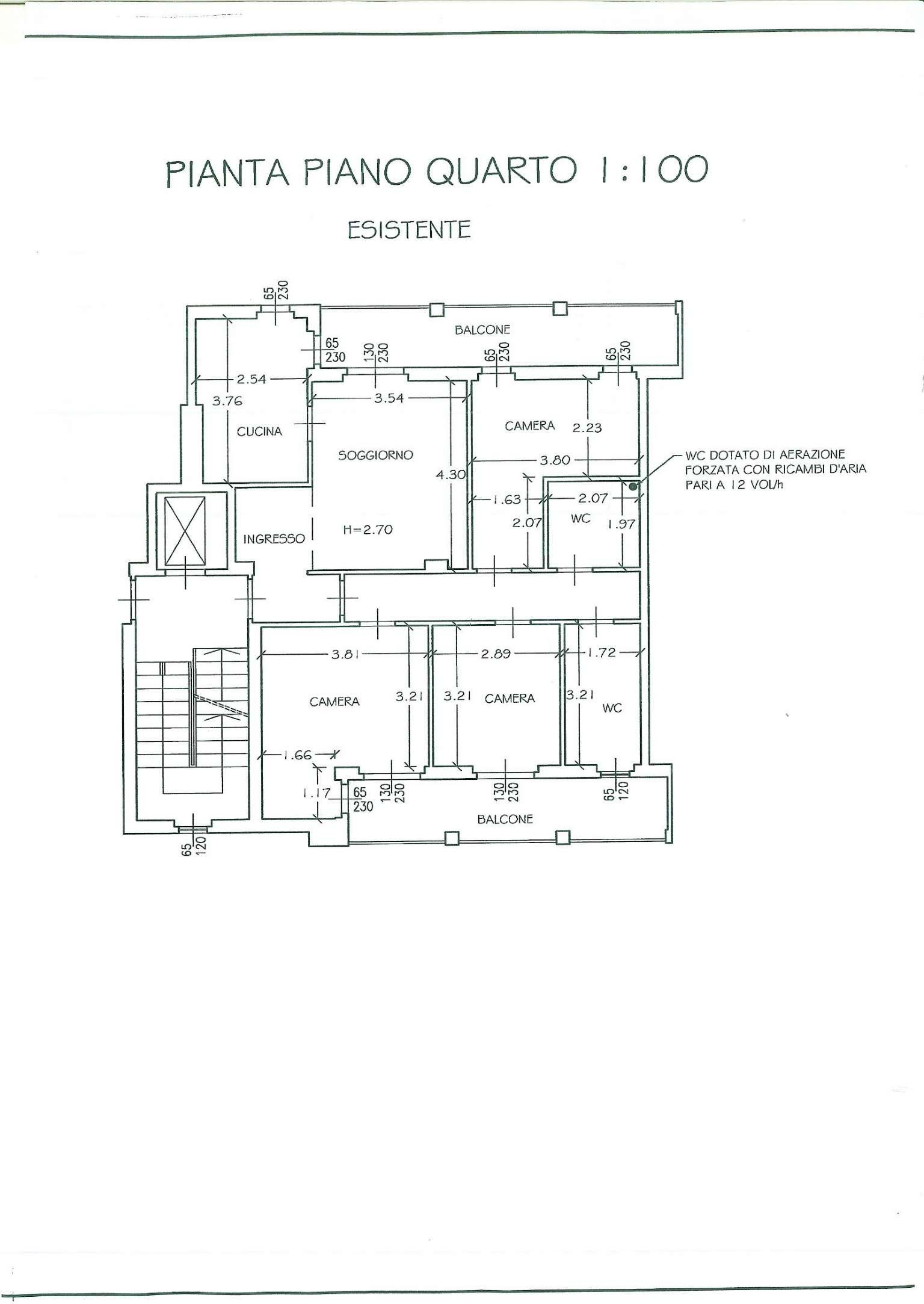 Appartamento in vendita a Mediglia, 3 locali, prezzo € 175.000   CambioCasa.it