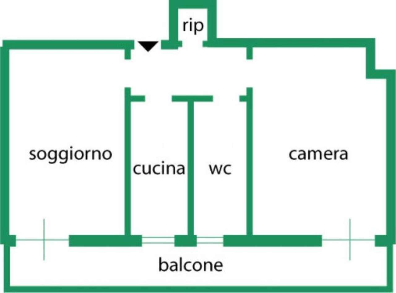 Vendita  bilocale Sesto San Giovanni Via Leonardo Da Vinci 1 1078012