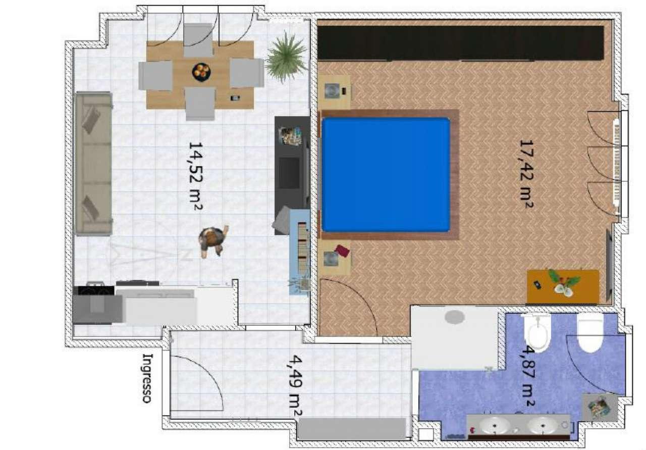 Appartamento in vendita a Cusago, 2 locali, prezzo € 82.000 | Cambio Casa.it