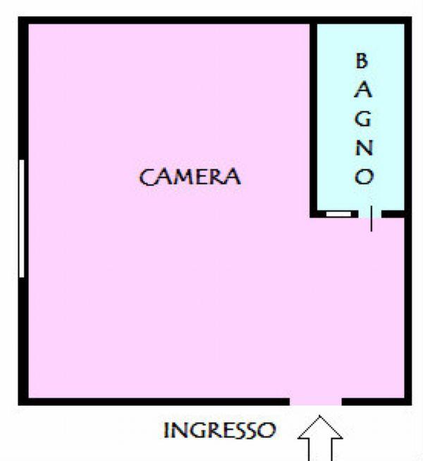 Appartamento in affitto a Napoli, 1 locali, zona Zona: 6 . Ponticelli, Barra, San Giovanni a Teduccio, prezzo € 250 | Cambio Casa.it