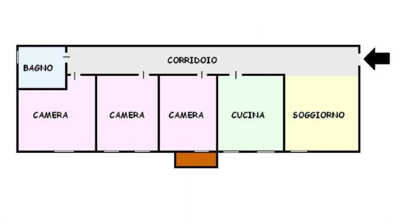 Appartamento in vendita a San Giorgio a Cremano, 4 locali, prezzo € 155.000 | Cambio Casa.it