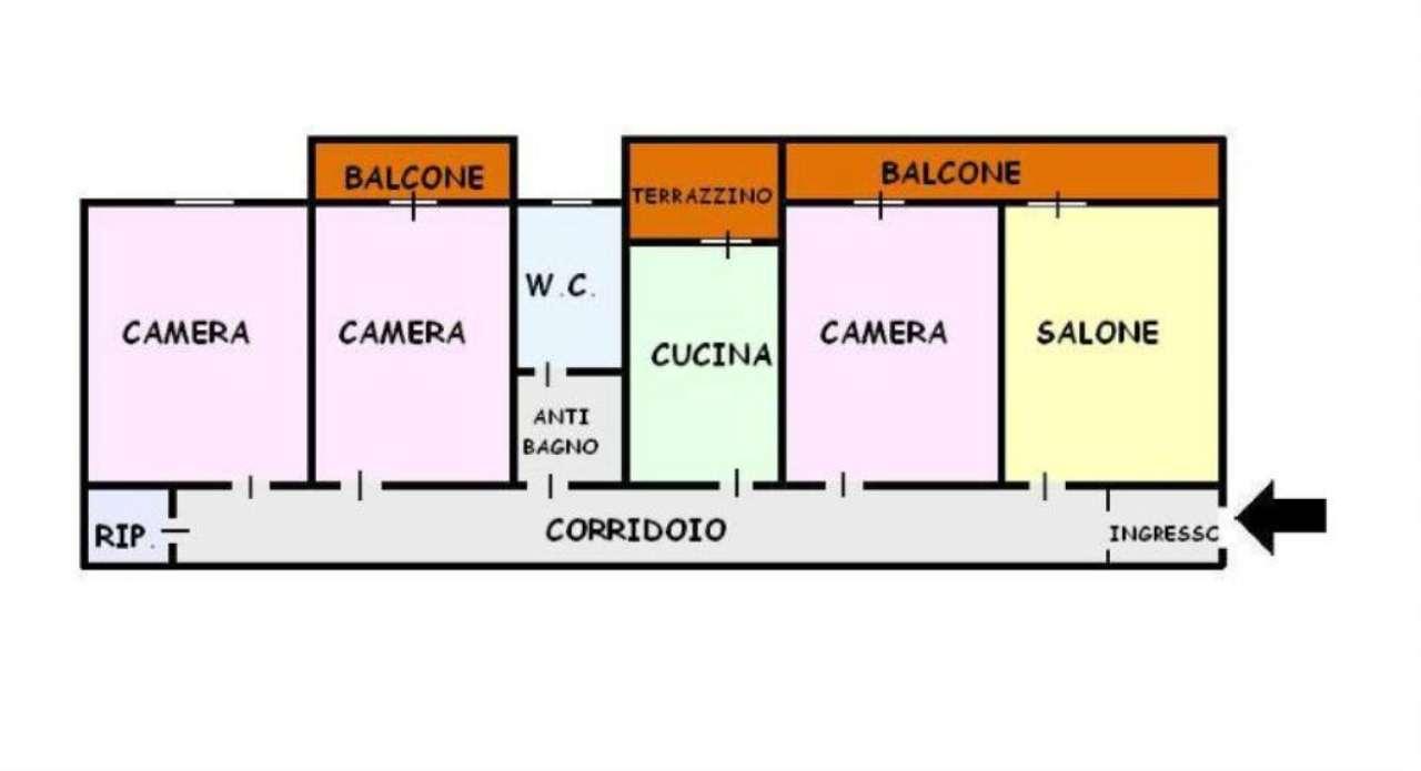 Appartamento in vendita a San Giorgio a Cremano, 4 locali, prezzo € 205.000 | Cambio Casa.it